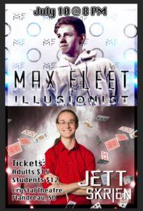 Max Fleet, Jett Skrien